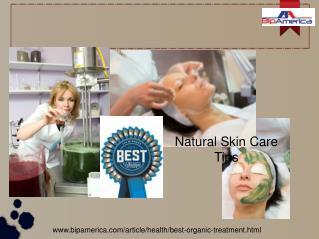 Best Natural Skin Care Tips