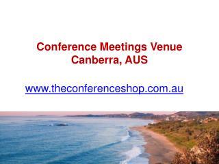 Conference Meetings Venue Canberra, AUS - Theconferenceshop.com.au