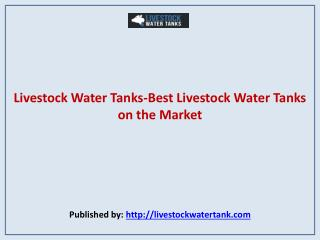 Best Livestock Water Tanks on the Market