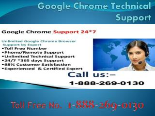 Google Chrome Helpline 1-888-269-0130 Number