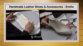 Handmade Leather Shoes and Accessories for Men