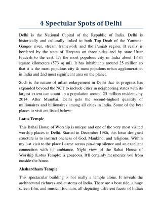 4 Spectular Spots of Delhi.pdf