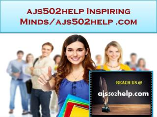 ajs502help Real Success/ajs502help.com