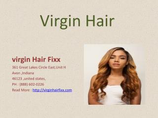 Cheap Virgin Hair - virgin Hair Fixx