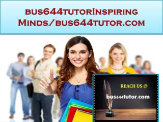bus644tutor Real Success/bus644tutor.com