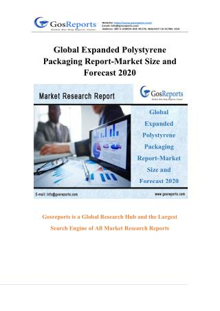 Global Expanded Polystyrene Packaging Report