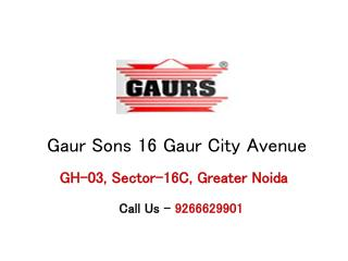 Gaursons 16 Gaur City Avenue � Flats in Greater Noida
