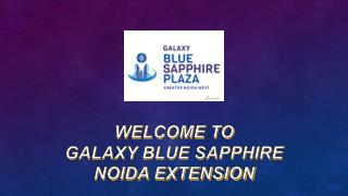 Commercial Space in Galaxy Blue Sapphire at Noida Extension