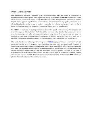 MAFISYS – ABSENCE AND FRESH.pdf