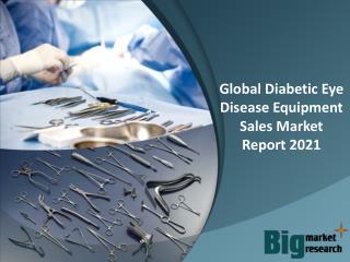Global Diabetic Eye Disease Equipment Sales Market Report 2021