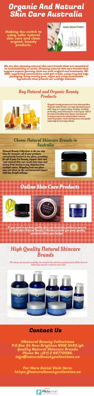 Choose Best Organic beauty Products In Australia