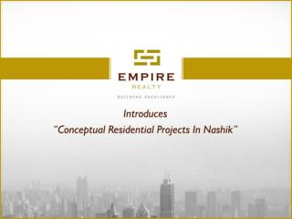 Premium Residential Projects in Nashik