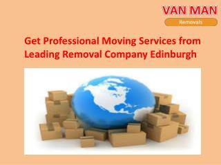 Removal company offer trustworthy service in Edinburgh
