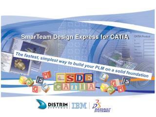 SmarTeam Design Express for CATIA