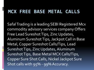 Free HNI Calls in Gold