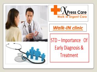 STD – Importance Of Early Diagnosis & Treatment