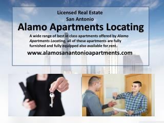 The Best Idea For Accommodation Is To Rent San Anotnio Apartments