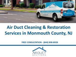 Cleaning & Restoration Services in Monmouth County NJ - Air Duct Brothers