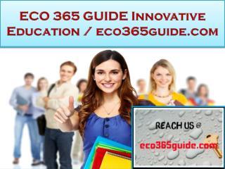 ECO 365 GUIDE Innovative Education / eco365guide.com