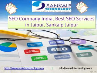 SEO Company India, Best SEO Services in Jaipur: Sankalp Jaipur