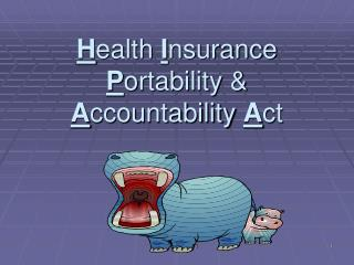 Health Insurance Portability  Accountability Act