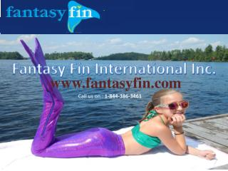 Cheap mermaid tails in Canada at fantasyfin.com
