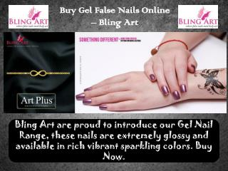Get Gel False Nails Online UK from Bling Art