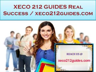 XECO 212 GUIDES Real Success / xeco212guides.com
