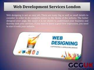 Hire the Website Design and Development Experts from London