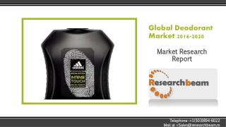Global Deodorant Market 2016-2020