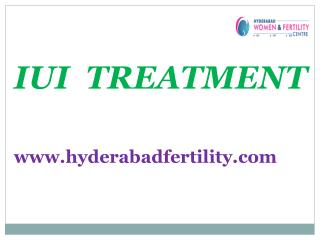 Best IUI Treatment Center in Hyderabad