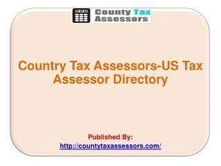 US Tax Assessor Directory
