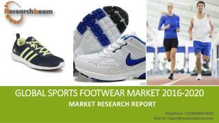 Global Sports Footwear Market 2016-2020