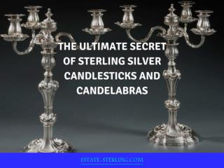 Introduction of Sterling Silver