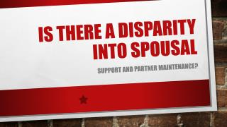 Is There A Distinction Between Alimony Spousal Support & Spousal Maintenance