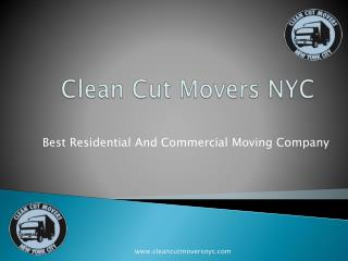 Best Moving Company in NYC