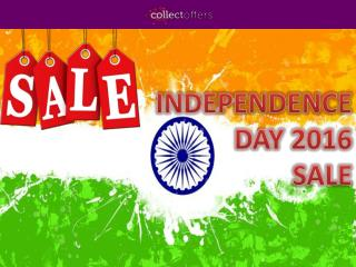 This Independence Day Enjoy The Freedom Of Unlimited Shopping