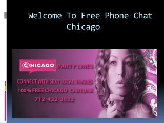 free phone chat lines chicago