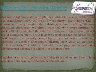 digital marketing services in mumbai |EnKonversations