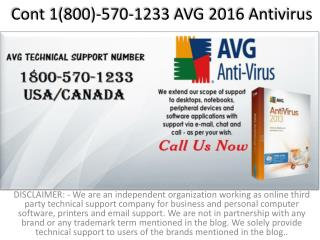 AVG Antivirus  1(800)-570-1233 Tech Support ℕ∪mβεℝ