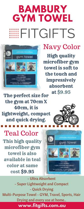Shop for Bambury Gym Towel
