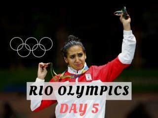 Rio Olympics: Day 5
