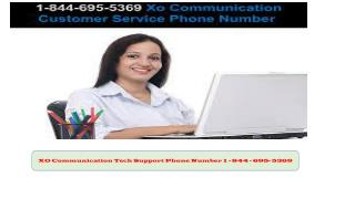 1-844-695-5369  Xo Communication Customer Service Number