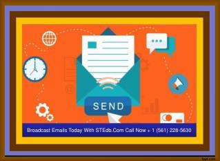 Create Email Campaign | STEdb.Com