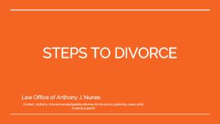 Law Office of Anthony J. Nunes - Divorce attorney Orange County CA