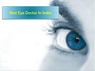 Eye Doctors in India