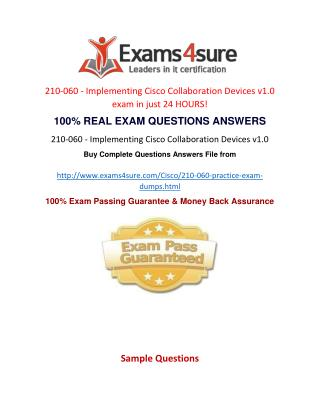 210-060 Questions Answers