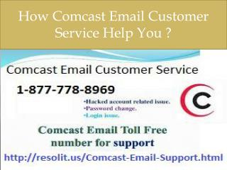 ##1-877-778-8969 Comcast Email Customer Service Help You To Resolve Issues