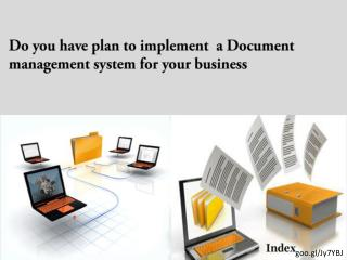 How to use document management system software