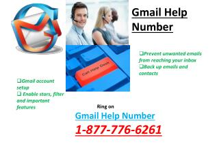 Gmail Help Number 1-877-776-6261 -For Configuration And Up-Gradation